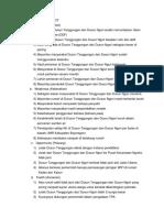 Identifikasi List SWOT Tanggungan