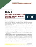 7. ARAHAN PENGENDALIAN RUANG KABUPATEN.doc