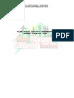 Politica Publica Manaure 2013