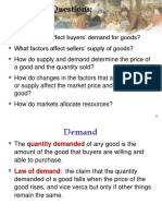 1 Demand and Supply