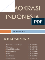 Demokrasi Indonesia Kel 3