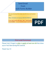 Send Email From Oracle Forms Builder Lesson Plan