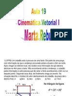 Física - Pré-Vestibular Dom Bosco - Aula 19 - Cinemática - Vetores I