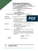 Draft SK Struktur Kepengurusan Menu