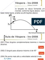 Física - Pré-Vestibular Dom Bosco - Aula de Véspera - Inv