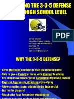 3-5-3 Defense by Dave Brow
