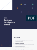 Business Intelligence Trends 2019