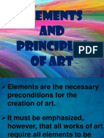 Lesson 7. Elements and Principles of Art