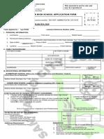 2019 g11 Application Form