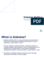 1 - Diabetes Mellitus