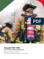 Honeywell Titan SCBA Brochure
