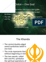 Ek Onkar – One God