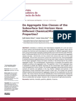 Do Aggregate Size Classes of the Subsurface Soil Horizon Have Different Chemical/Mineralogical Properties?