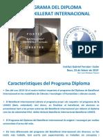 PowerPoint Batxillerat Internacional Portes Obertes 23-02-2019