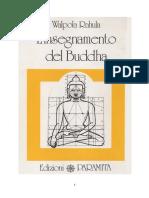 l'insegnamento di Buddha