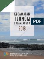Kecamatan Teunom Dalam Angka 2018