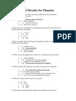 100 Terms Plumbing Codes
