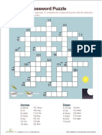 Antonym Crossword Puzzle