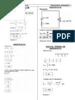 Física - Pré-Vestibular Dom Bosco - Resoluções Aulas 41 a 44