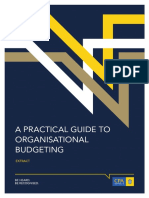 Practice Guide to Organizational Budgeting