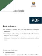 Audio Meters