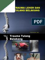 Trauma Leher Dan Tulang Belakang