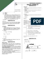 Física - Pré-Vestibular Dom Bosco - Resoluções Aulas 53 a 60