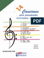 14 Canciones Para Principiantes_Toribio Alfonso Grandez