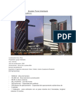analisis de la Torre del edificio interbank