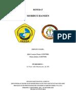 Referat - Morbus Hansen