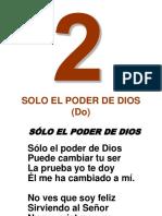002-Solo El Poder de Dios