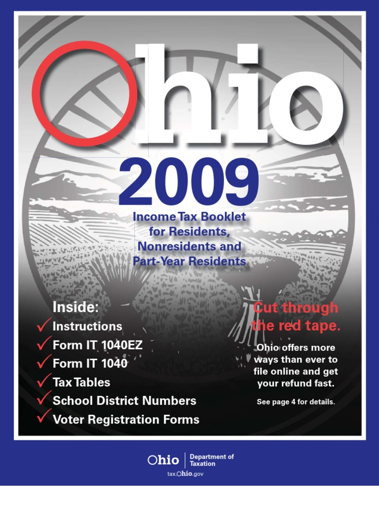 2007 tax booklet 1040ez.
