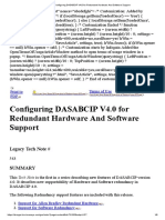Configuring DASABCIP V4.0 for Redundant Hardware and Software Support