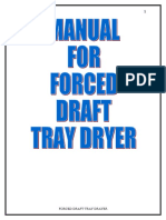 2-Forced Tray Dryer