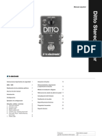 Tc Ditto Stereo Looper Manual Spanish