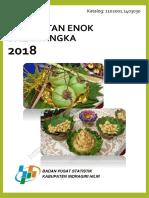 Kecamatan Enok Dalam Angka 2018