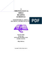 chronological bible reading