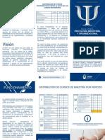 Plan de Estudio Maestria en Psicologia Clinica y Psicologia Industrial