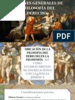 Nociones Generales de La Filosofia Del Derecho
