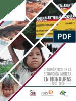Diagnostico de La Situacion Minera en Honduras 2007-2012 Version Para Sitio Web