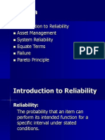 Reliability Training