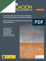 Aguilera Morales et al. - 2018 - La enseñanza de las ciencias basada en indagación. Una revisión sistemática de la producción espa