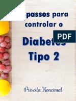 eBook 5 PASSOS Para Controlar o Dm2
