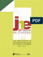 Guia Para Aplicacao de Adaptacoes Na Realizacao de Provas e Exames 2019