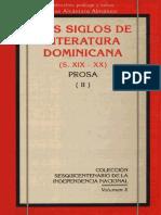 Dos siglos de Literatura Dominicana (S. XIX - XX) Prosa (II).pdf