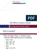 Some Basics for Creating Web-Friendly Content