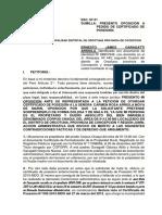 Escrito Alcalde de Orcotuna Oposicion