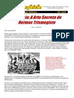22 Licao Alquimia a Arte Secreta de Hermes Trismegisto