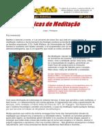 25 Licao Tecnicas de Meditacao