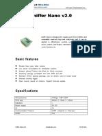 Sniffer Nano Manual